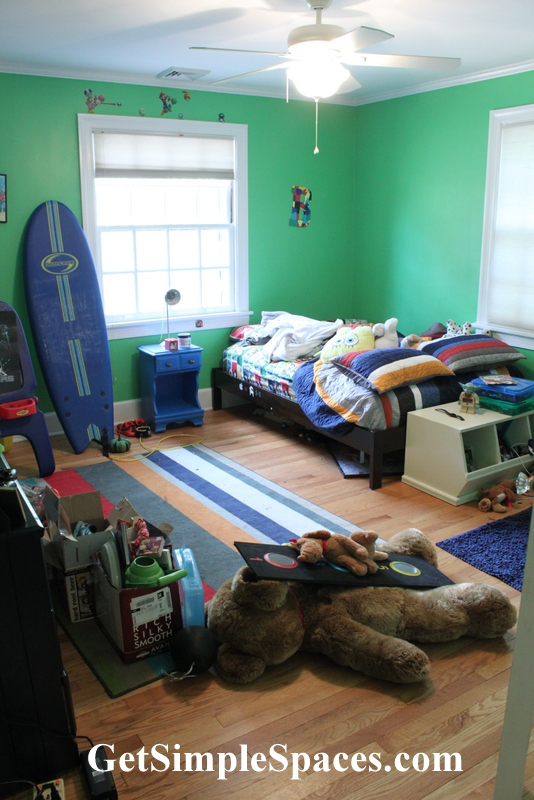 boy room overhaul part 2
