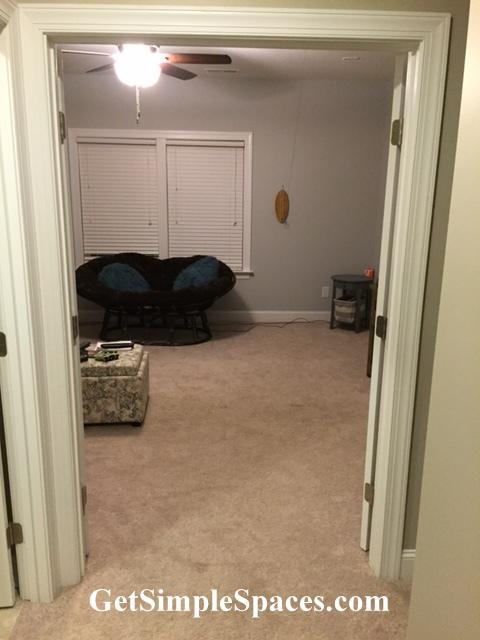 bonus room makeover