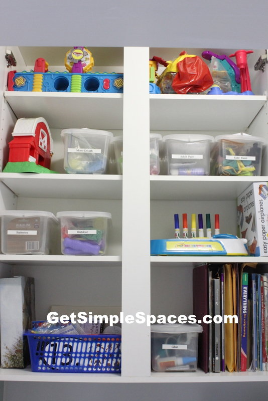 organizing with labels