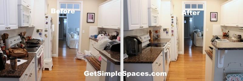 kitchen organizing overhaul
