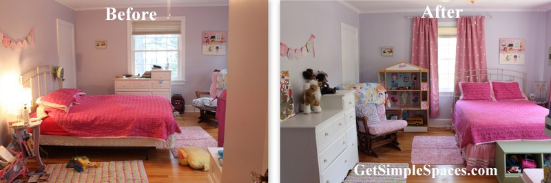 girl room makeover