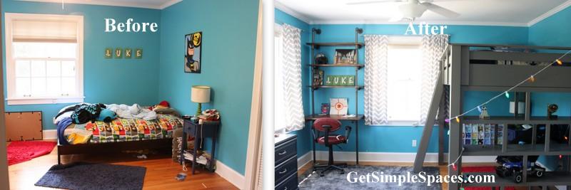 boy room overhaul part 1