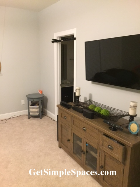 bonus room makeover